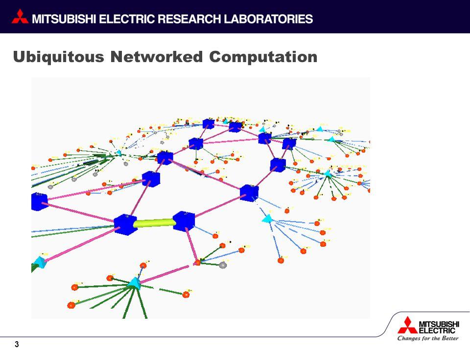 3 Ubiquitous Networked Computation