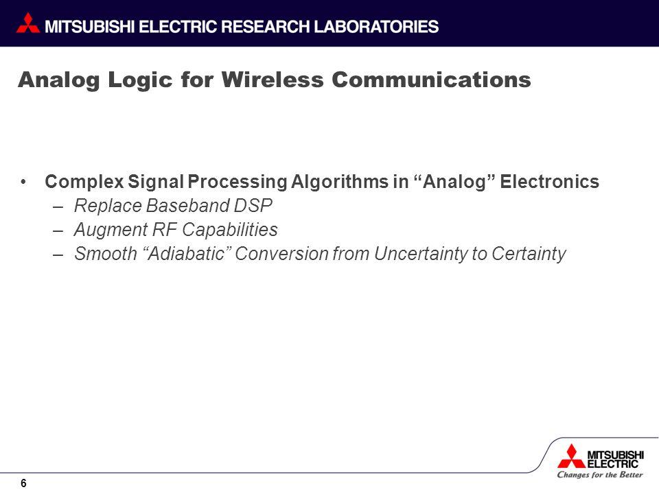 27 Comparison of Noise Lock Loops Built Using Analog Logic vs.