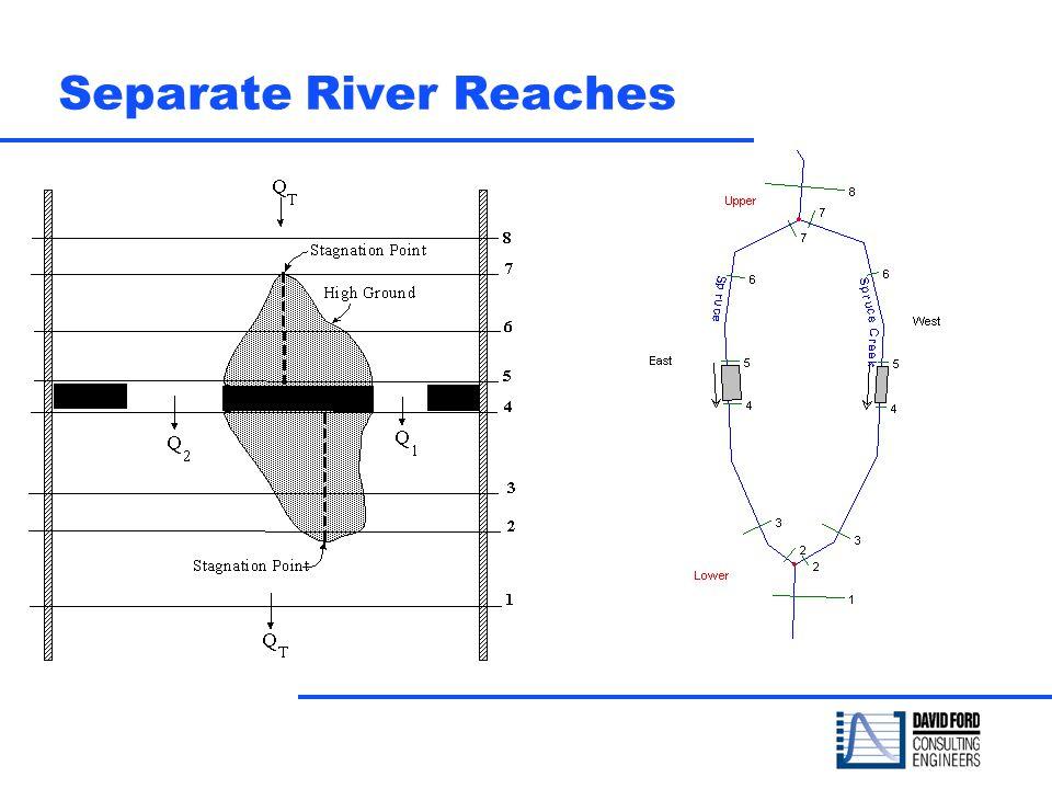 Separate River Reaches