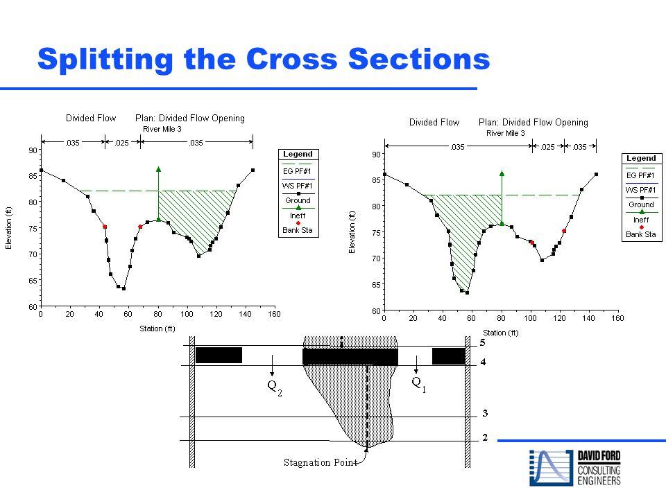 Splitting the Cross Sections