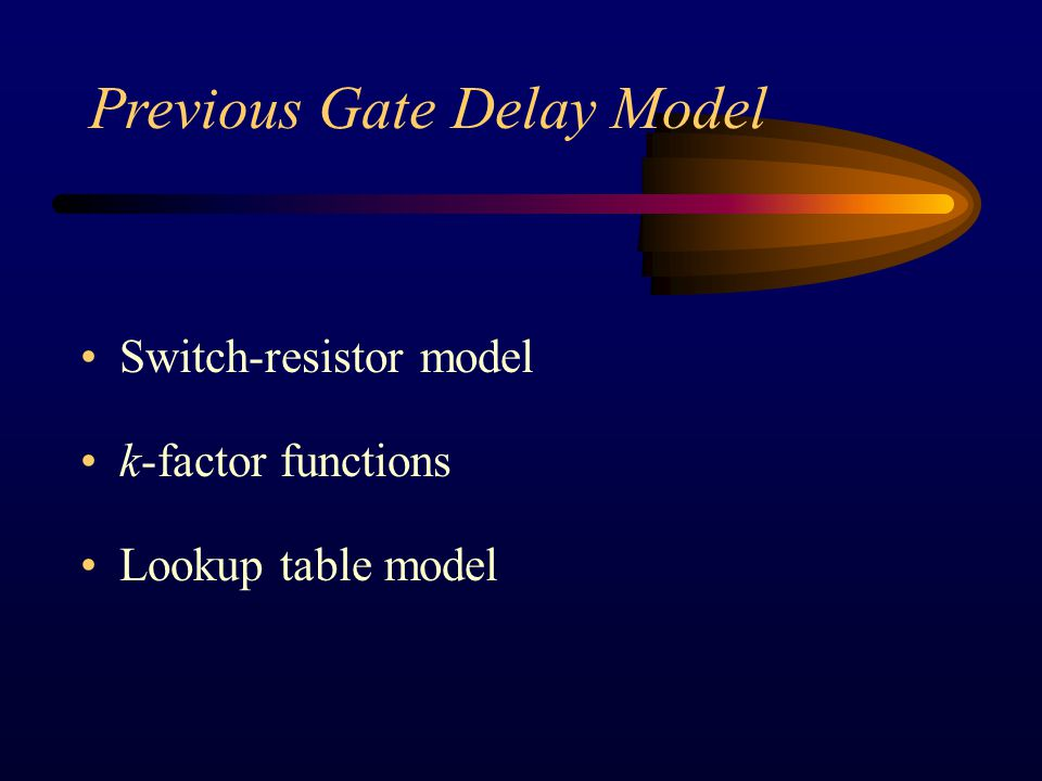 Obtain Operating Points There are four operating points of the gate output needed in the deduction.