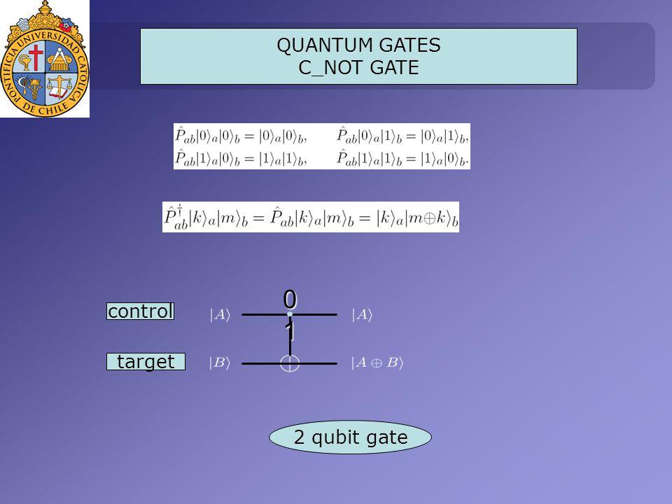 01010101 target 2 qubit gate control QUANTUM GATES C_NOT GATE