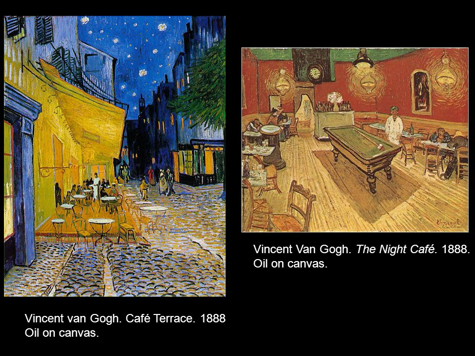 Vincent Van Gogh. Mme Roulin. 1889. Oil on canvas. Vincent Van Gogh. Dr. Gachet. 1890. Oil on canvas.