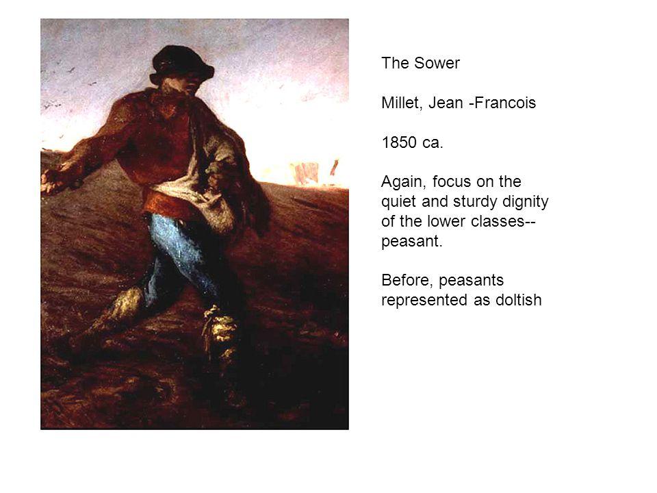 The Sower Millet, Jean -Francois 1850 ca.