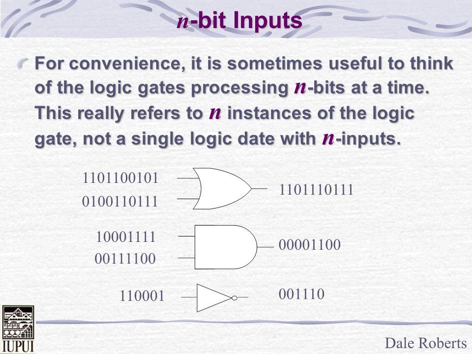 Dale Roberts Logic Circuits Boolean Expressions All logic circuits are equivalent to Boolean expressions and any boolean expression can be rendered as a logic circuit.