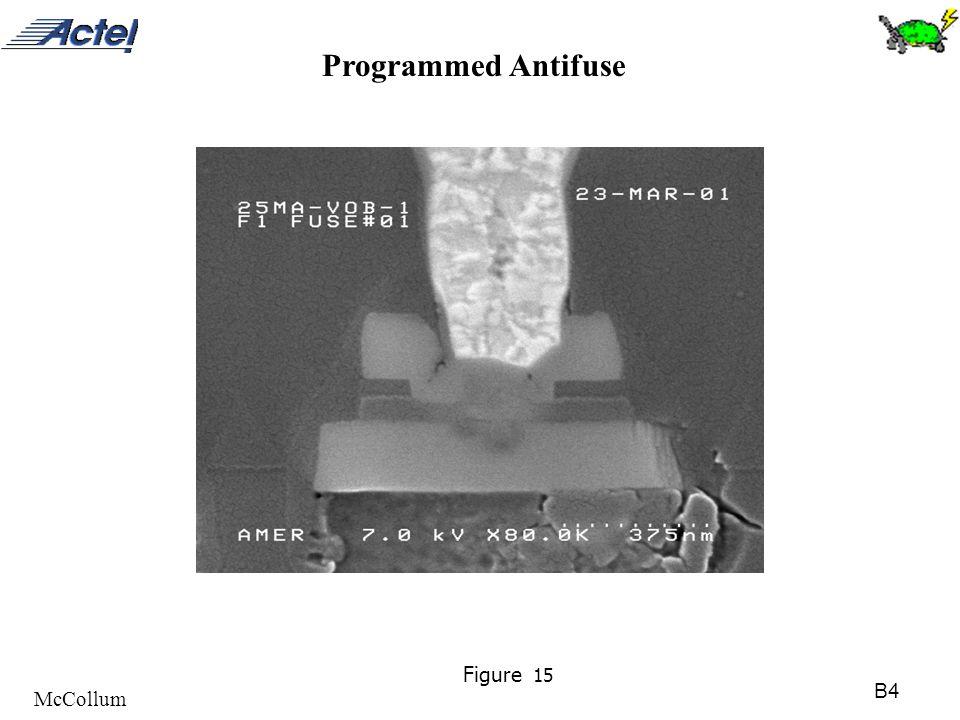B4 McCollum Figure 15 Programmed Antifuse
