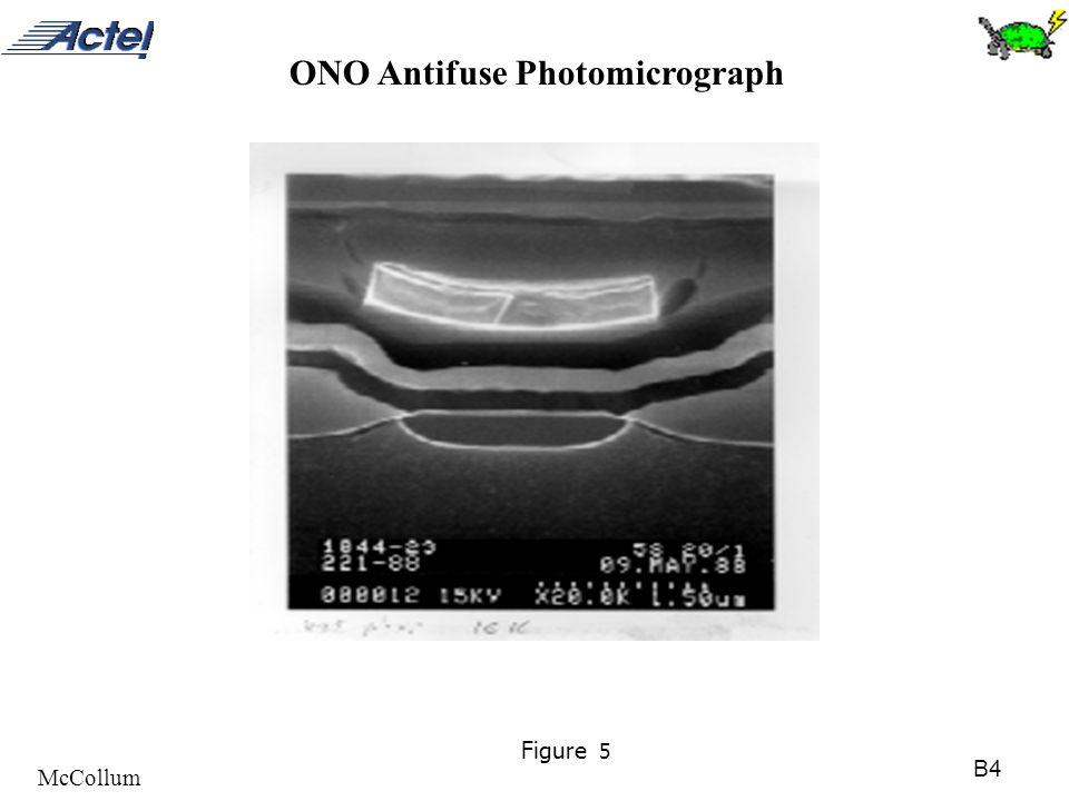 B4 McCollum Figure 5 ONO Antifuse Photomicrograph