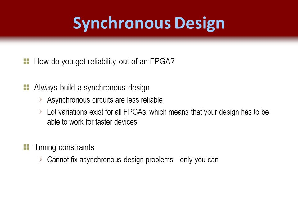© 2007 Xilinx, Inc. All Rights Reserved FPGA and ASIC Technology Comparison - 22 © 2007 Xilinx, Inc. All Rights Reserved FPGA and ASIC Technology Comp