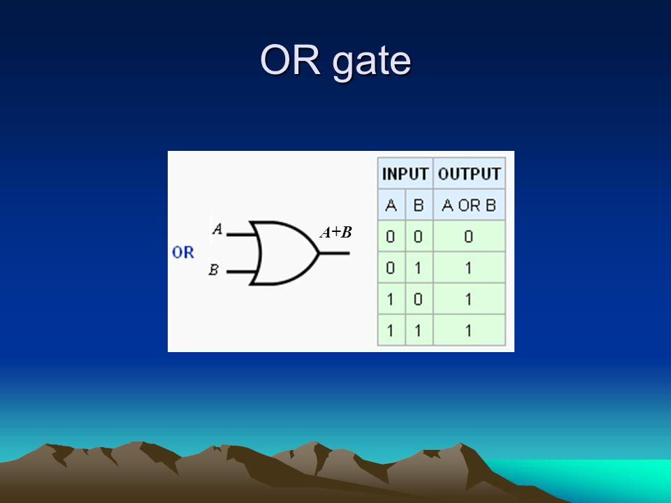 OR gate A+B