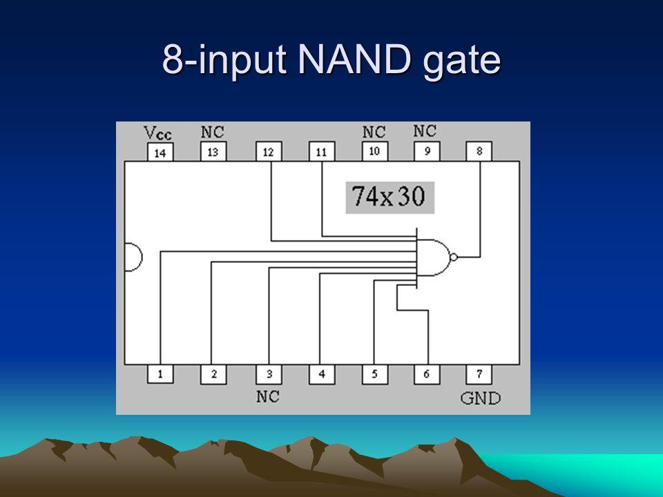 8-input NAND gate