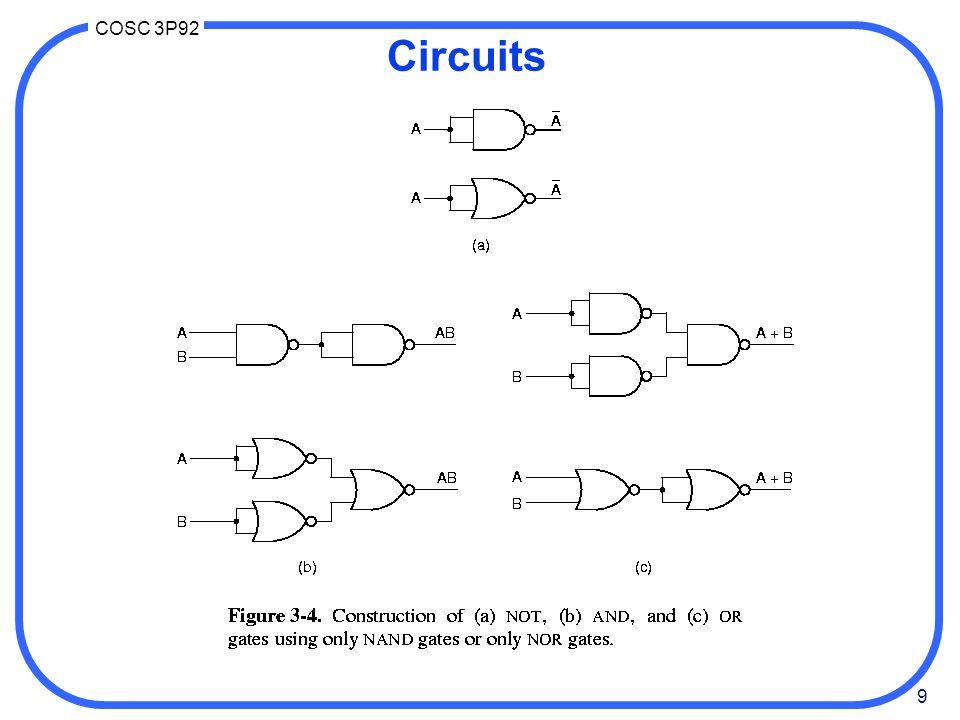10 COSC 3P92 Circuits