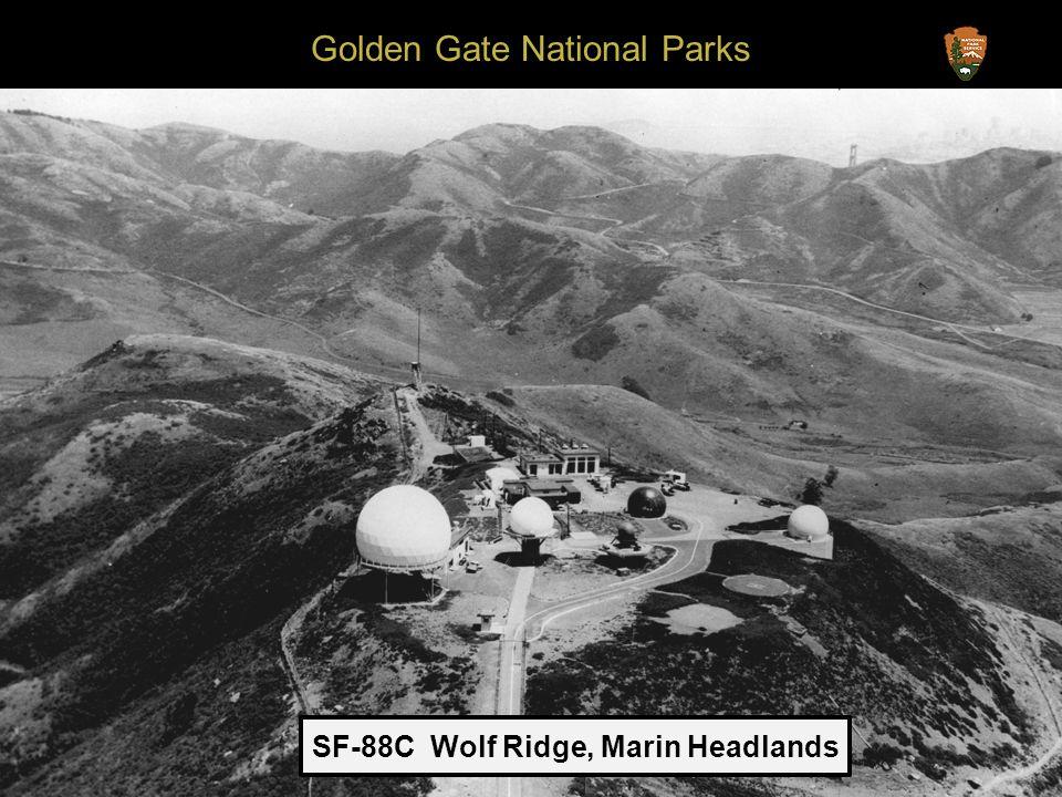 Golden Gate National Parks SF-88C Wolf Ridge, Marin Headlands