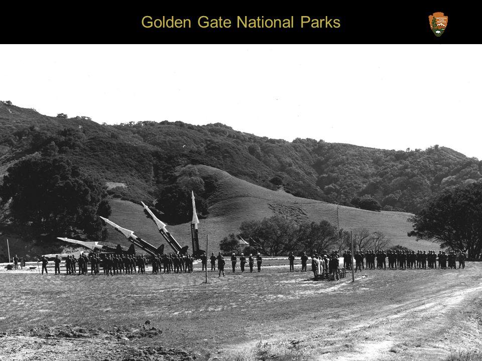 Golden Gate National Parks SF-89L Battery Caulfield, Presidio of San Francisco
