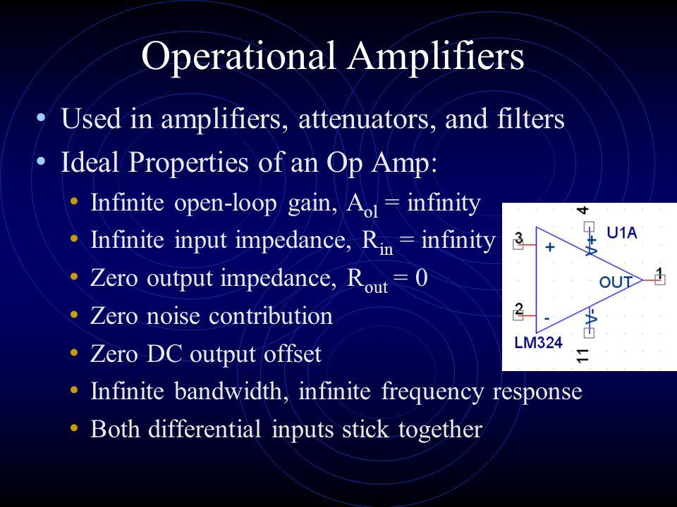 Op Amp configurations Summing Amplifier V o = V1(R3/R1) + V2(R3/R2) Adder