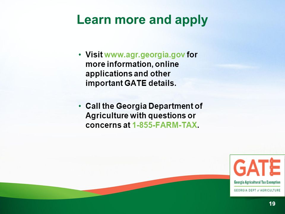 Learn more and apply Visit   for more information, online applications and other important GATE details.