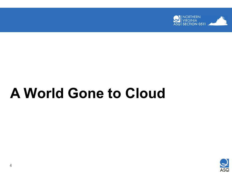 4 A World Gone to Cloud