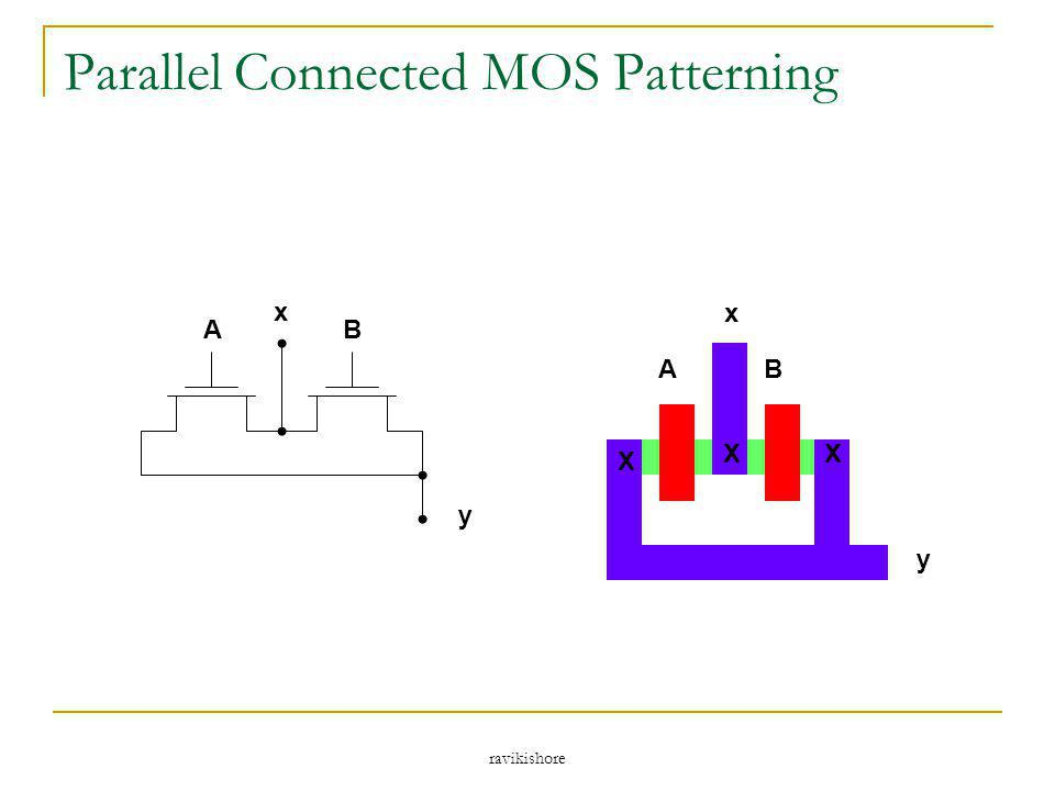 ravikishore Parallel Connected MOS Patterning x y AB X XX AB x y