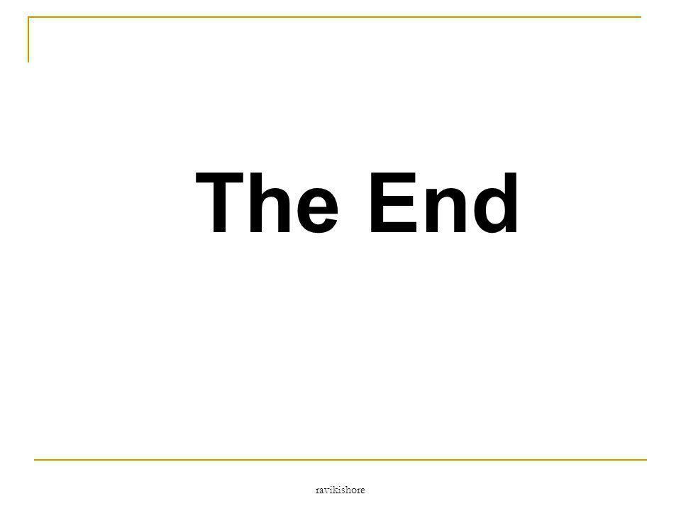 ravikishore The End