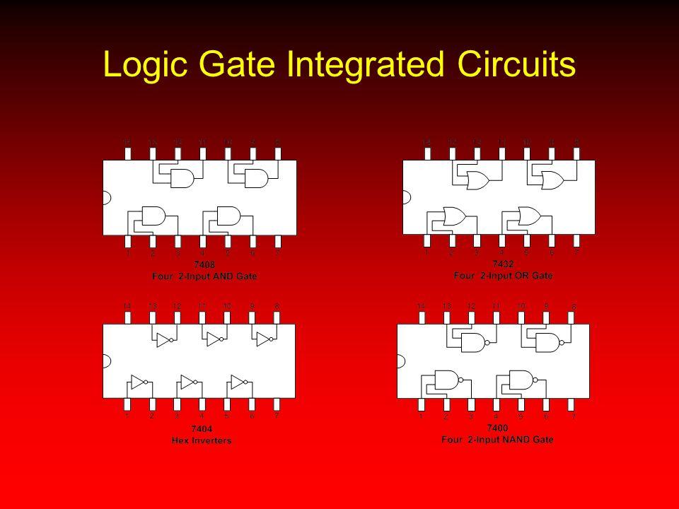 Logic Gate Integrated Circuits