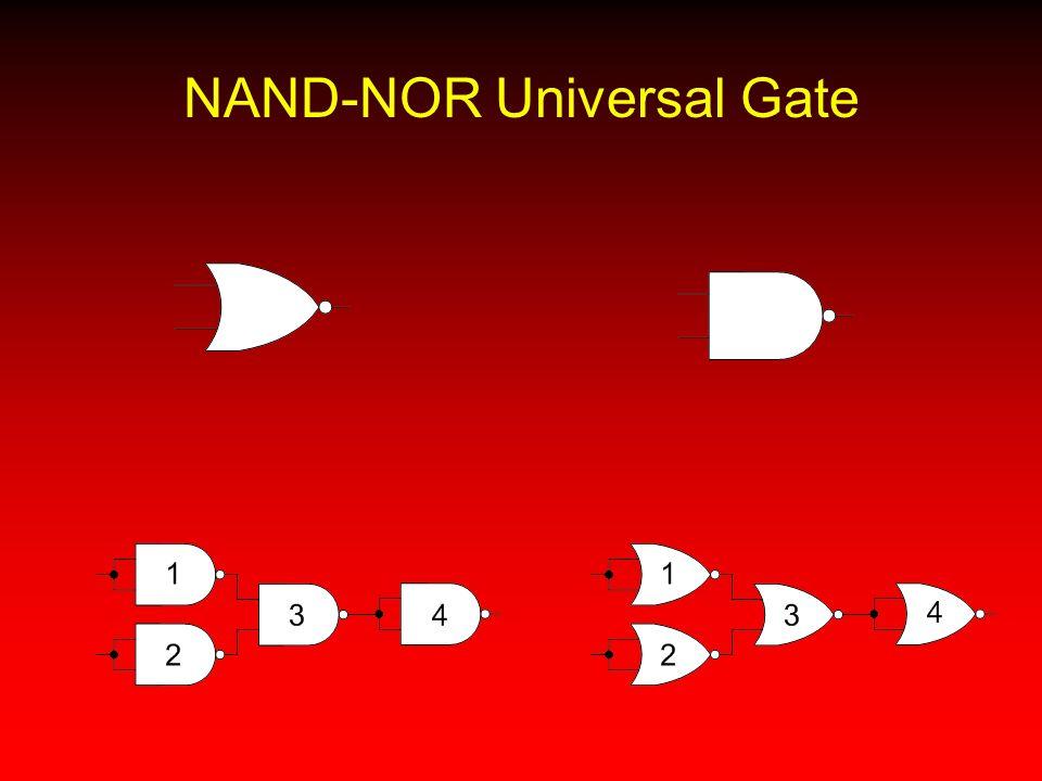 NAND-NOR Universal Gate