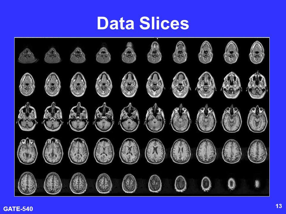 GATE-540 13 Data Slices