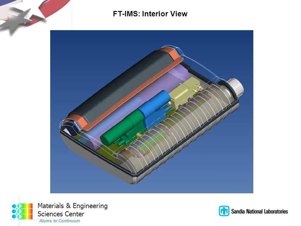 Materials & Engineering Sciences Center Atoms to Continuum FT-IMS: Interior View