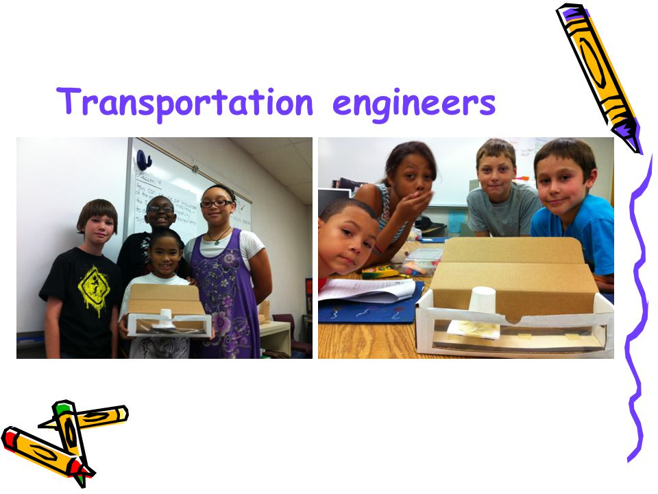 Transportation engineers