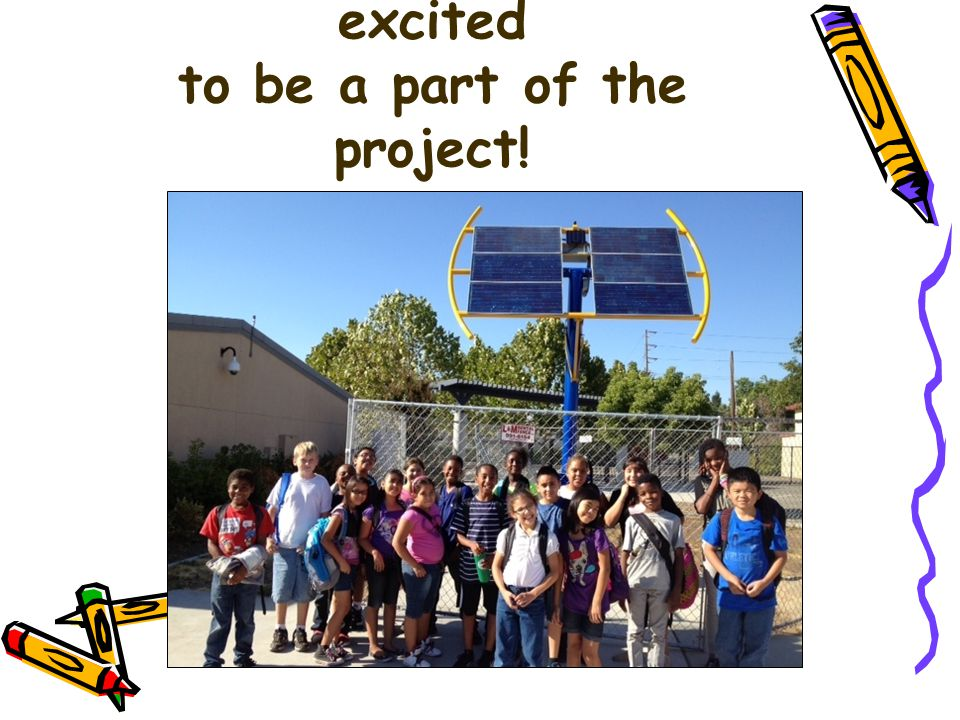 Oakdale Students are excited to be a part of the project!