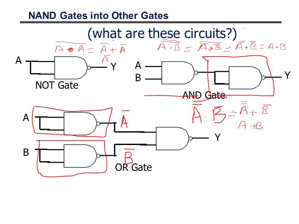 Cascaded NAND Gates 3-input NAND gate