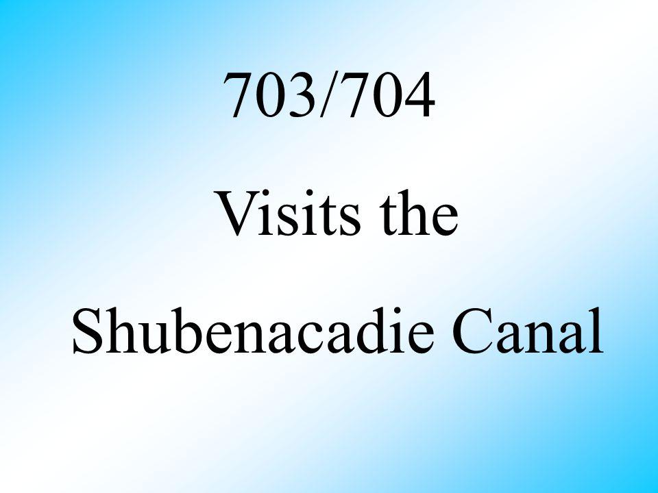 703/704 Visits the Shubenacadie Canal