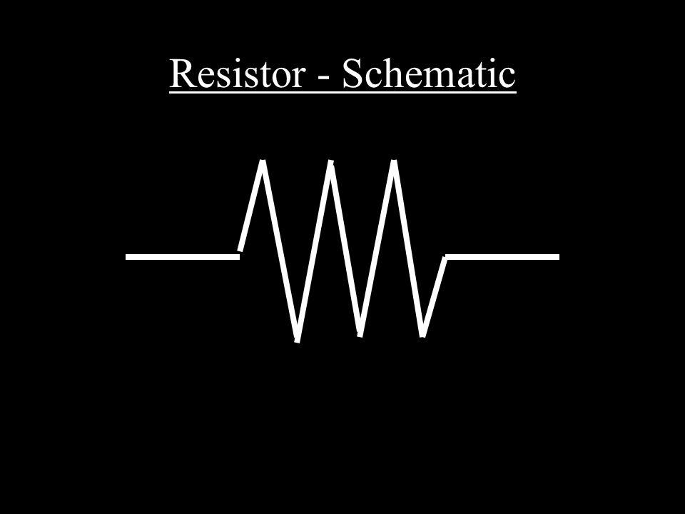 Resistor - Schematic