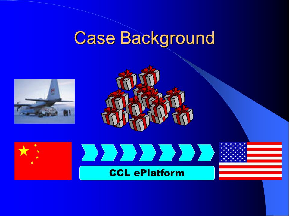 Case Background CCL ePlatform