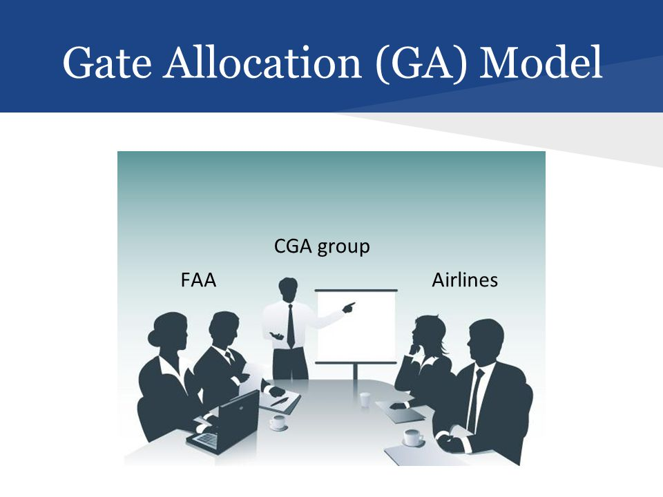 Gate Allocation (GA) Model FAAAirlines CGA group