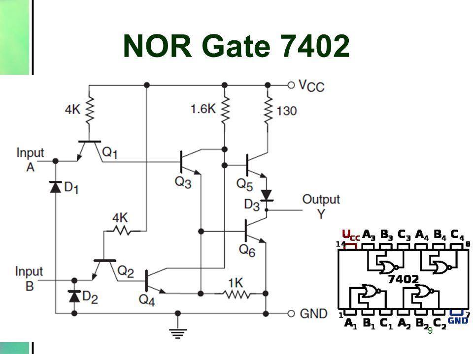 NOR Gate 7402 9