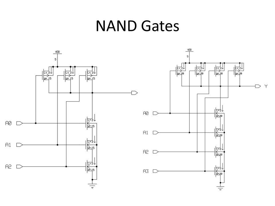 NAND Gates