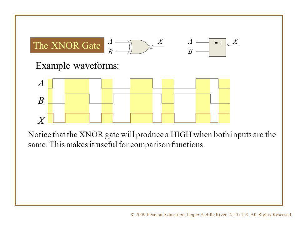 Floyd, Digital Fundamentals, 10 th ed Applications of XOR and XNOR Gates Three common applications: 1.