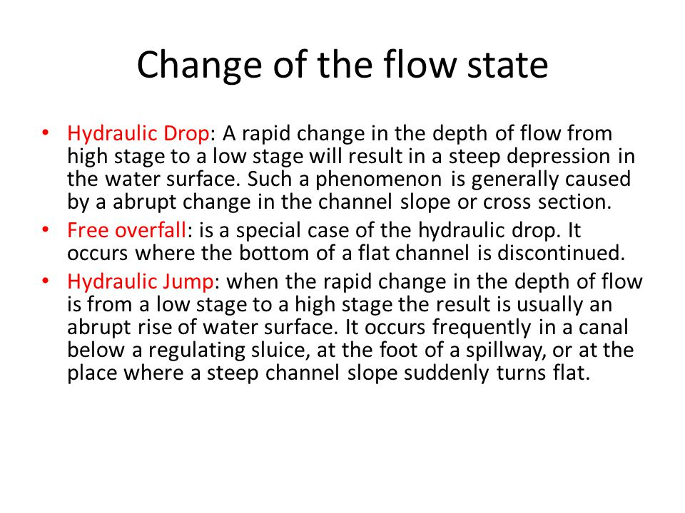 Force on a sluice gate Example