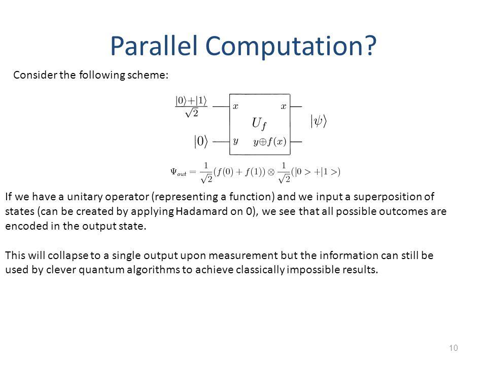 10 Parallel Computation.