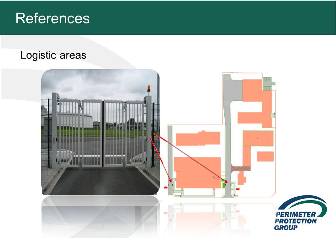 MFZ KONZEPT - Zielsetzung Logistic areas 24 References