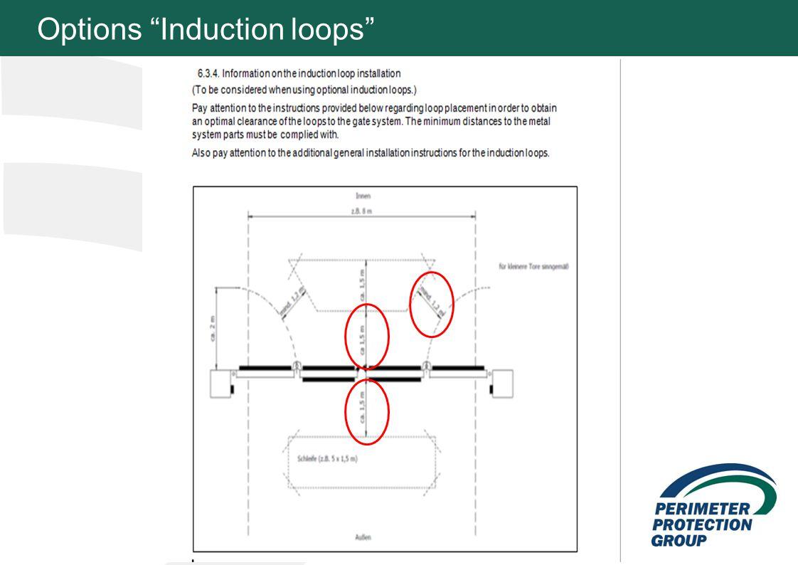 MFZ KONZEPT - Zielsetzung 8 Options Induction loops