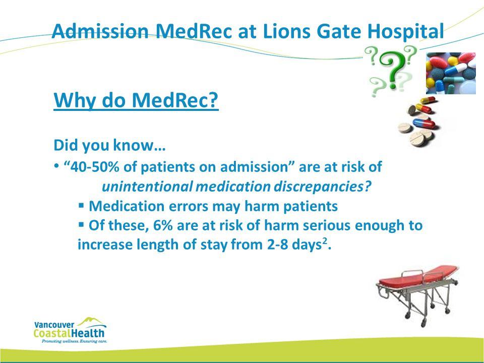 Why do MedRec.