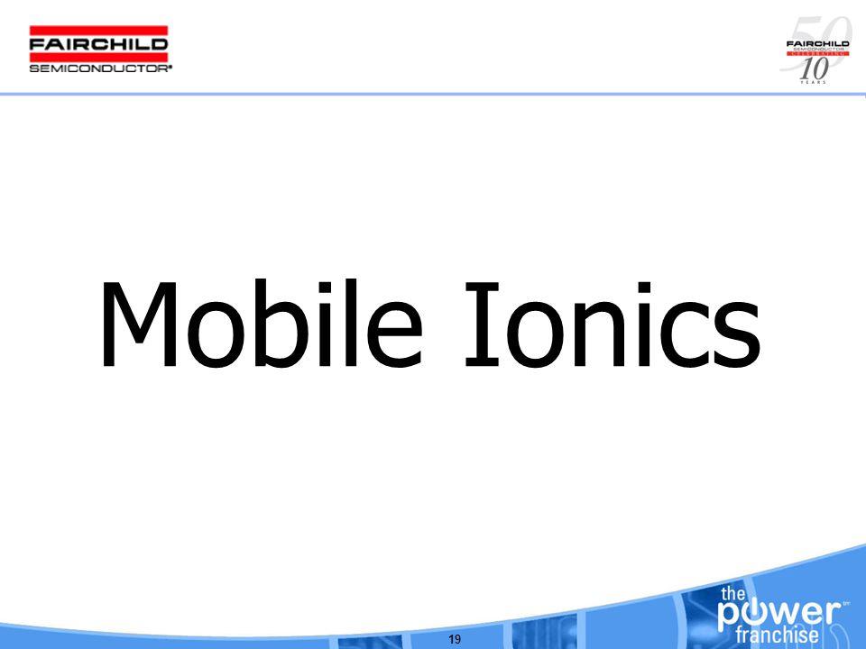 19 Mobile Ionics
