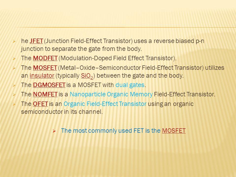 MOSFET development