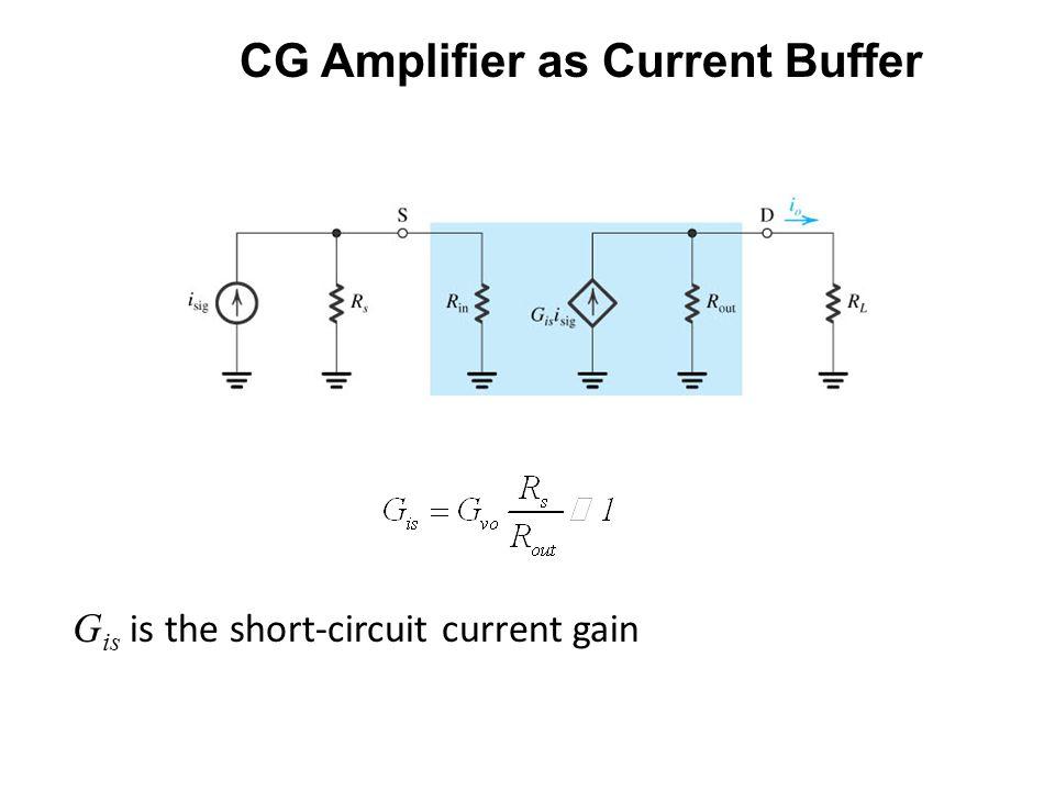 ECE 442 – Jose Schutt-Aine 18 CASE 2 The voltage gain becomes MOS Cascode Analysis