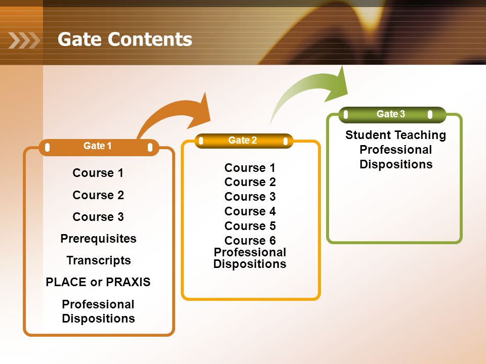 Professional Disposition Report (PDR) ProfessionalDisposition The PDR is used to document outstanding or unprofessional behavior The PDR is completed for all licensure students at each gate in the Education program