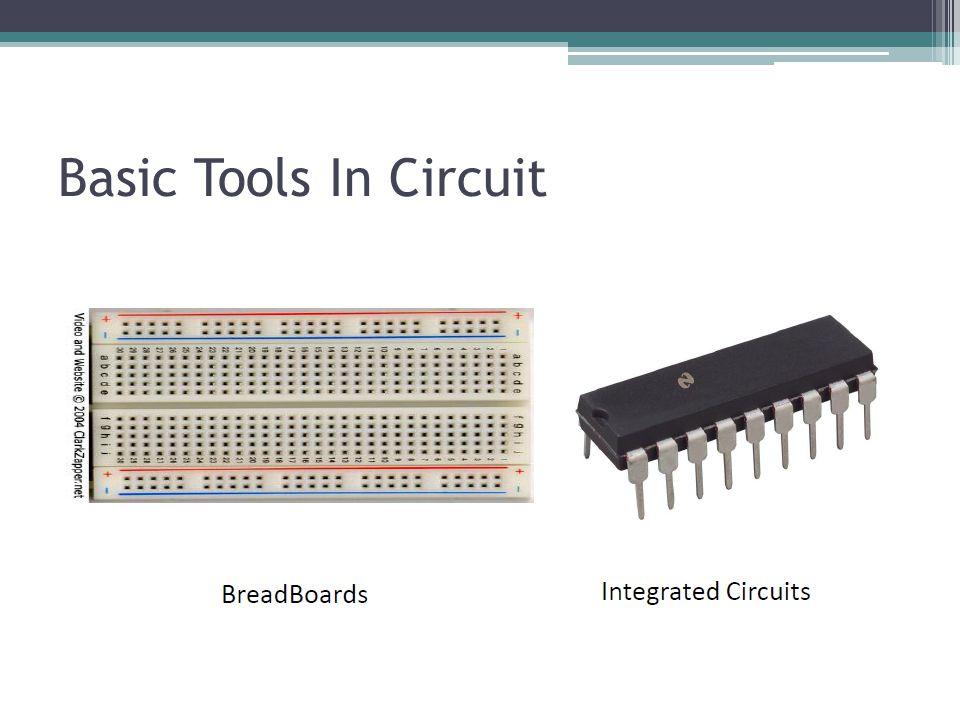 Basic Tools In Circuit