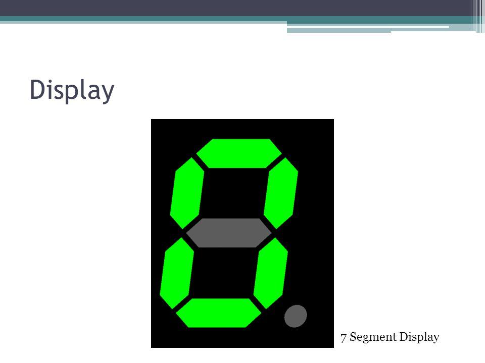 Display 7 Segment Display