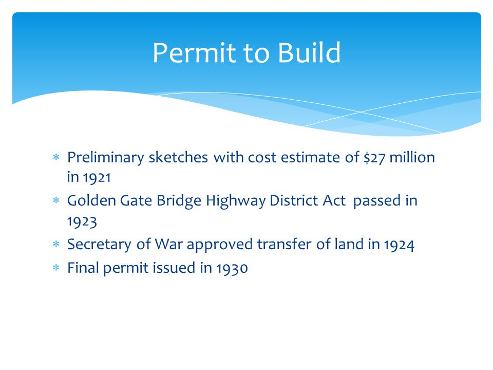 Voters put their homes, farms, & business properties up for collateral Support $35 million bond $23,843,905 awarded for the construction in 1932 Financial