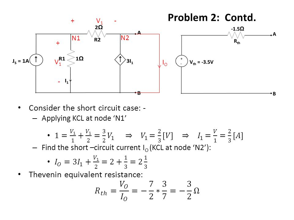 Problem 3: Use load-line analysis to determine I D and V D values for the circuit in Fig.