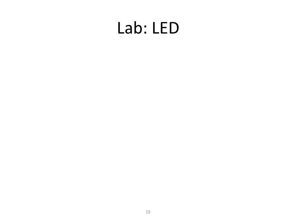 Lab: LED 18